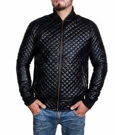 Patchwork Jacket Mens - quilted style mens black leather bomber jacket click to buy