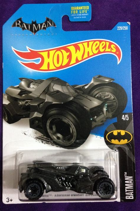 2016 Hot Wheels #229 Batman Arkham Knight Batmobile
