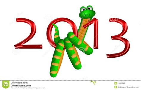new year and snake 2013 new year of the snake stock images image