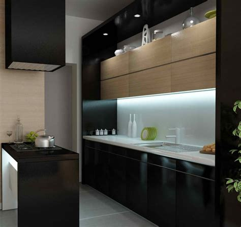 black kitchen design home design garden architecture