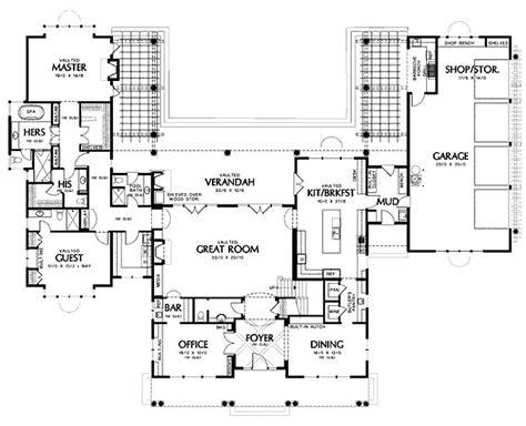 15 affordable home plans u shaped eplans shingle house main floor house plan 48 237 house plans pinterest