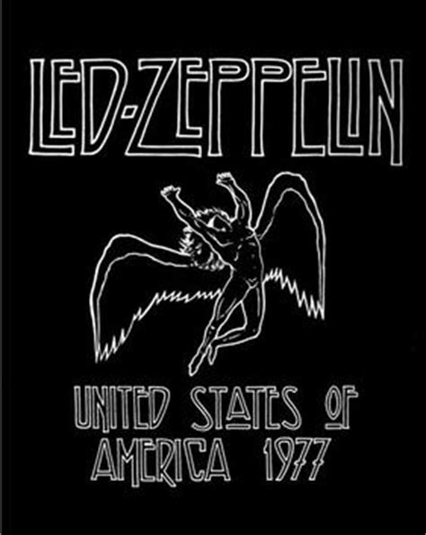 Kaos Led Zeppelin Us Tour 77 led zeppelin american tour 1977 wikiwand
