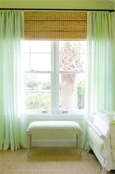 bamboo shades and curtains 1000 images about bamboo blinds on pinterest ceiling