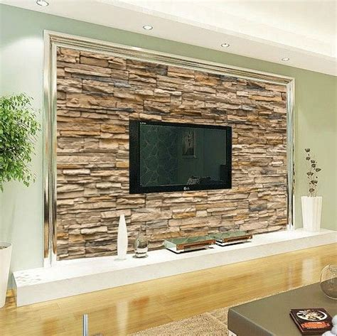 wallpaper for lcd wall 29 best images about stone on wall tv walll on pinterest