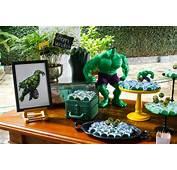 Ideias Para Fazer Uma Festa Infantil Do Hulk  Toda Atual
