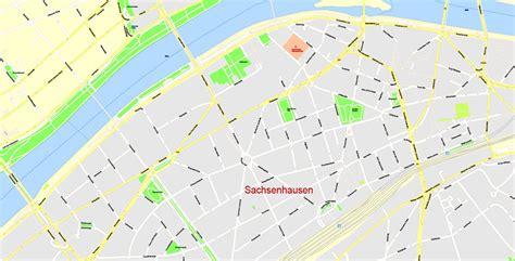 printable area in coreldraw printable cdr vector city map frankfurt am main metro area