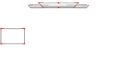 Twitch Simple Overlay By Jaegerpangaia On Deviantart Overlay Template