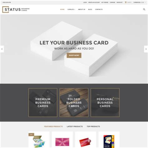 bootstrap business card template virtuemart templates virtuemart themes template