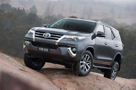 New Toyota Fortuner The All New Bolder Toyota Fortuner Bows In