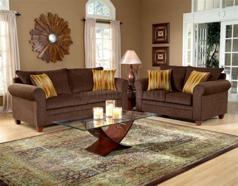 Chocolate Brown Sofa Decorating Ideas