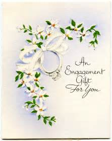 vintage engagement gift card design shop