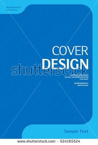 book cover layout vector book cover design vector template a4 stock vector