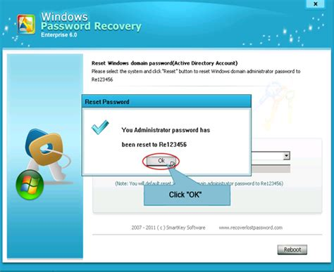 windows reset password enterprise how to reset windows password with windows password reset tool