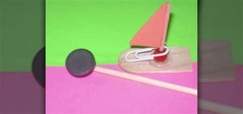 how to make a paper clip boat how to craft a magnet boat with your kids 171 kids