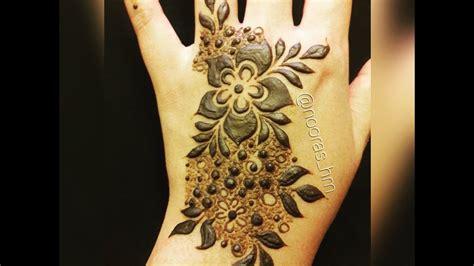 henna design emirates step by step emirates henna design youtube