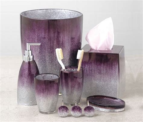 15 purple bathroom accessories home design lover
