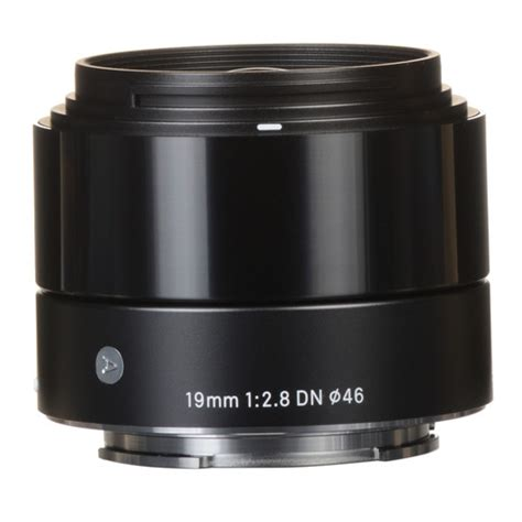 Sigma Lens 19mm F by Sigma 19mm F 2 8 Dn Lens For Sony E Mount Black