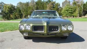 Wood Pontiac Seller Of Classic Cars 1970 Pontiac Gto Verdoro Green