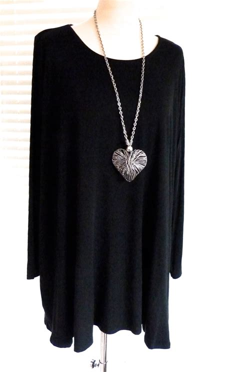 swing tunic top easy fit jersey swing tunic boutiquej2s
