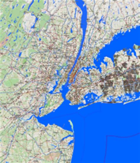 map of new york and surrounding areas city maps new york