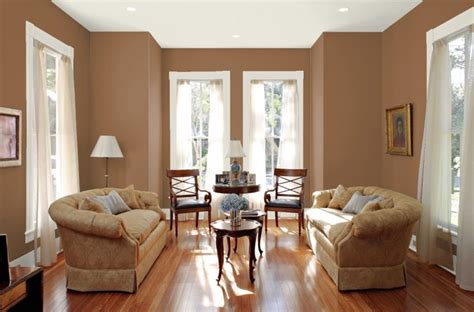 brown painted rooms