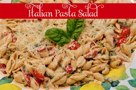 the best creamy italian pasta salad i heart recipes italian creamy pasta salad quot must try quot summer recipes