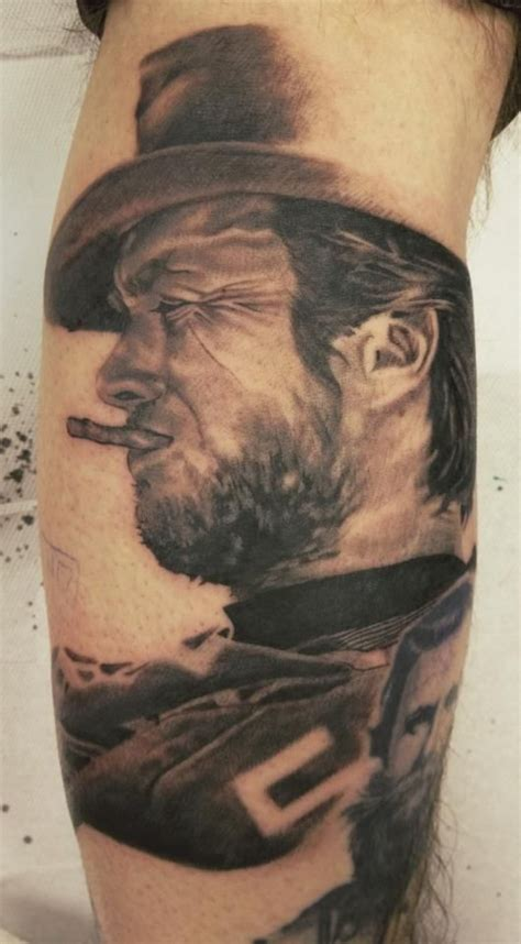 clint eastwood tattoo pin by tattoostage on tattoos