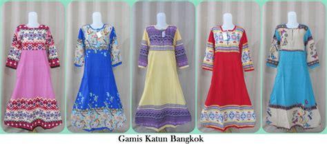 Grosir Baju Gamis Murah Meriah pusat grosiran gamis katun bangkok terbaru murah 40ribuan