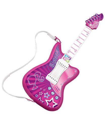 barbie dazzling diva light up guitar barbie jam with me rock star guitar 792491642592