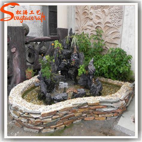 Indoor Rock Garden Indoor Fiberglass Modern Rock Garden Water With Pond Buy Indoor Water