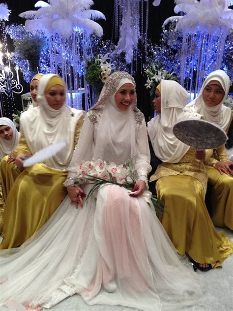 Baju Syar I 100 Buatan Designer 17 best images about muslim wedding dress on