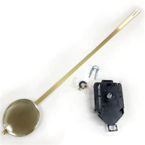 mini pendulum clock movement mm shaft length clock