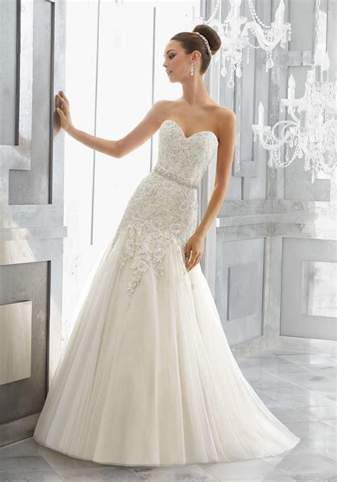 Wedding Dress by Maura Wedding Dress Style 5566 Morilee