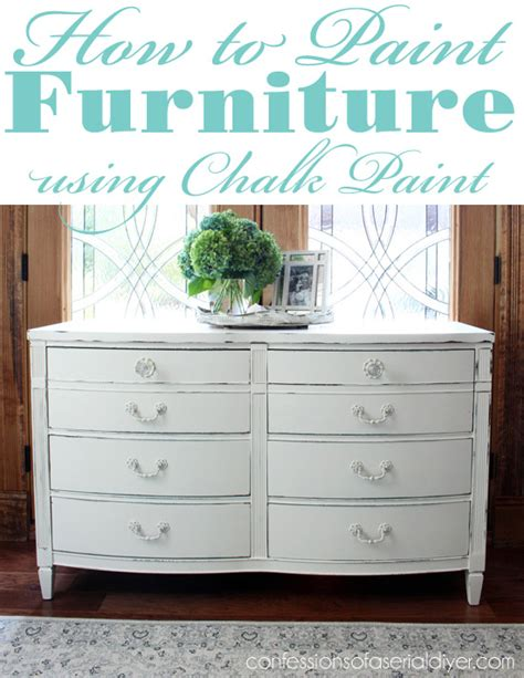 how to paint furniture using chalk paint confessions of a serial do it yourselfer