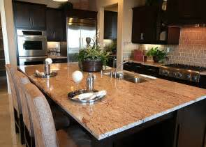 kitchen island with granite shivakashi pink granite countertops 2195 shivakashi