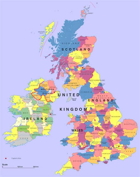 map of showing counties uk map showing counties free printable maps