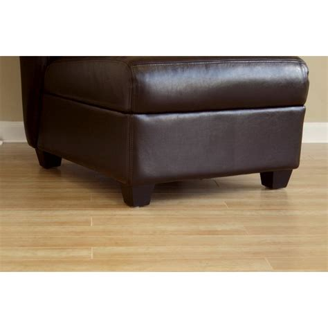 brown leather armless desk chair dark brown full leather armless club chair see white