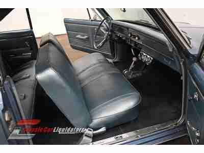 nova bench seat for sale buy used 1967 chevrolet nova 350 v8 automatic blue on blue