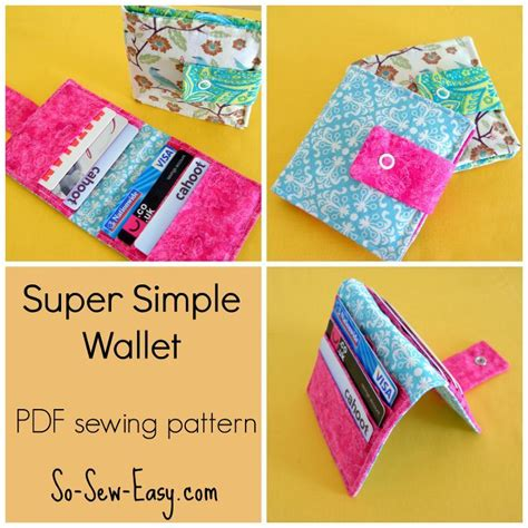 carding full tutorial pdf super simple wallet by so sew easy craftsy