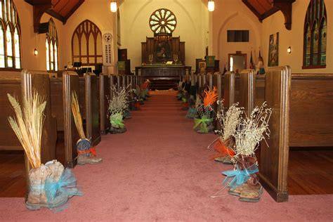 Country Church Wedding Decorations by Country Western Wedding Sold Cowboy Lifestyle Network