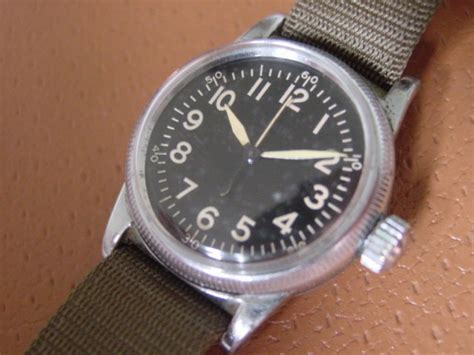 Airwalk Elgin D Brown Original ww2 era elgin issue type a 11
