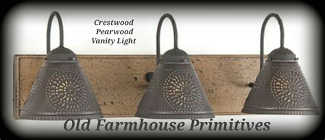 primitive bathroom vanity crestwood primitive bathroom vanity light