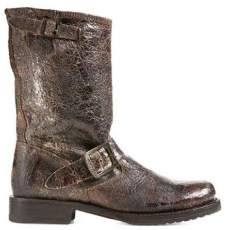 frye boot distressed brown comfortable
