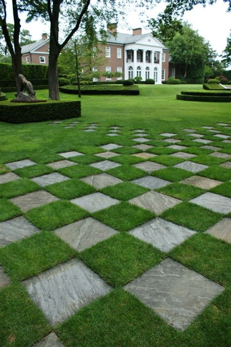 Patio Pavers With Grass Inbetween How Would You Cut The Grass That Is In Between The Pavers