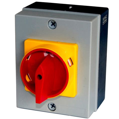 Isolator Switch 20a buy europa 20a 4p rotary isolator ip65 from websparky