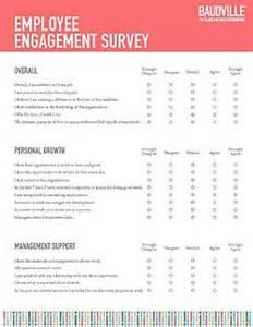 employee recognition survey template baudville