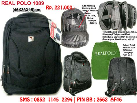Tas Ransel Laptop Polo Esse Expending tas laptop murah tas laptop polo tas laptop wanita the knownledge