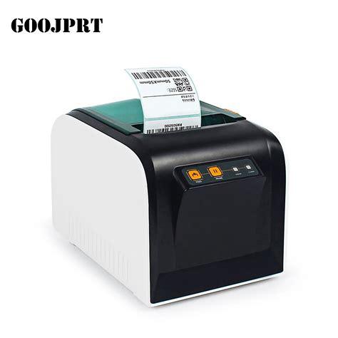 Printer Sticker goojprt thermal label printer 80mm sticker printing machine label maker with usb serial port