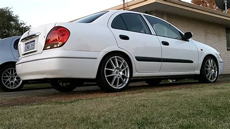 nissan sunny 2005 modified n16 pulsar exhaust youtube