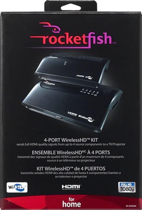rocketfish rf whd  port wirelesshd kit ecousticscom